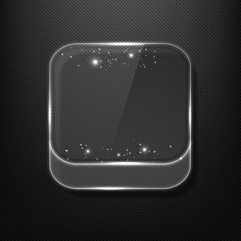 Glass App Icon - Free vector #340347