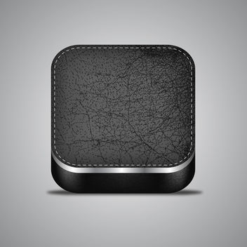 Leather App Icon - vector #340367 gratis