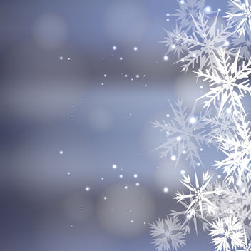 Magic Christmas Background - vector #340427 gratis