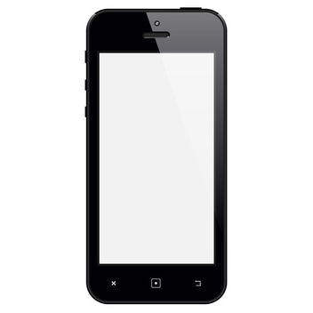 Vector iPhone - vector gratuit #340647