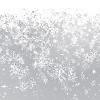 Snowflake Background - vector #340767 gratis