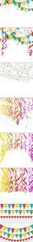 7 Celebration Background - vector gratuit #340887