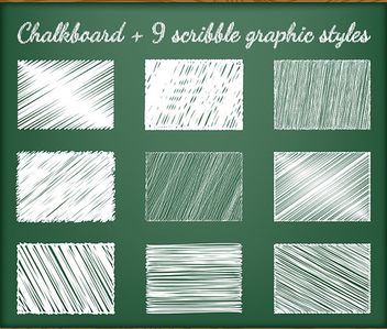 Chalk Text Style - vector #340927 gratis