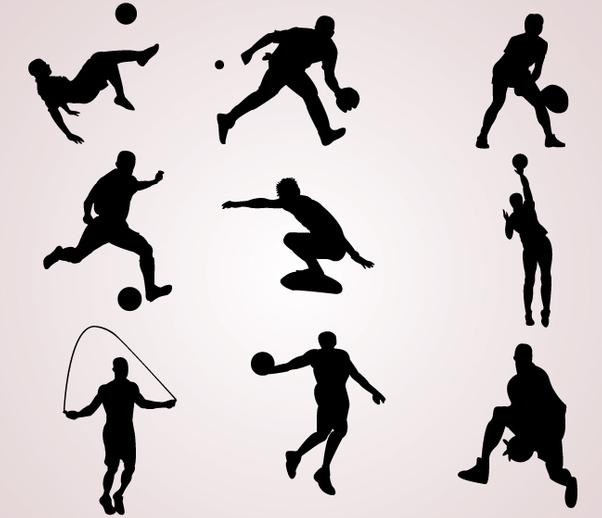 Картинки спорт контур