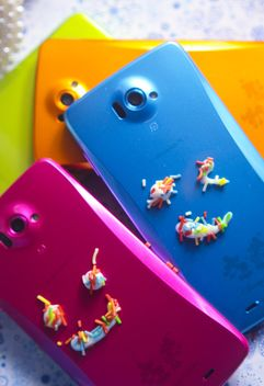 Smartphone with decorative elements - image #341527 gratis
