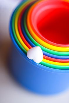 Colorful cups one in one - Kostenloses image #342087