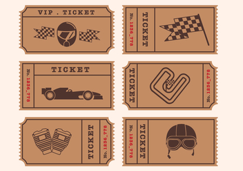Vector Ticket - vector #342377 gratis