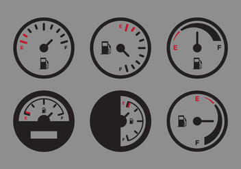 Vector Fuel Gauge - Free vector #342397