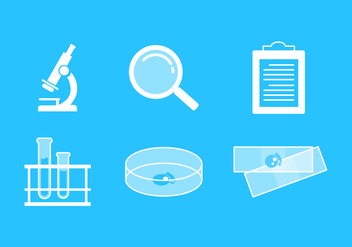 Vector Labs Icon Set - Free vector #342747
