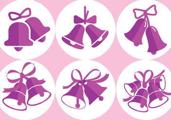 Wedding Bells Vectors - vector gratuit #342947