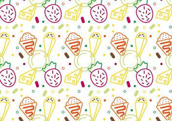 Free Crepes Pattern #2 - Free vector #342997