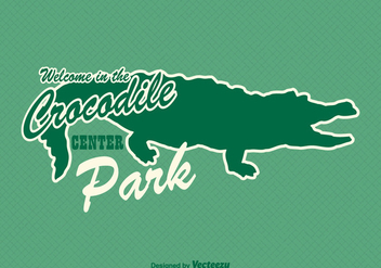 Free Gator Sticker Vector - Free vector #343037