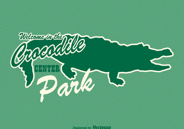 Free Gator Sticker Vector - бесплатный vector #343037