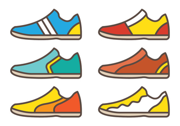 Futsal Shoes - vector #343137 gratis
