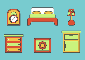 Free Kids Room Vector Icons #8 - Free vector #343207