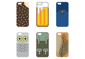 Vector Phone Case - Kostenloses vector #343217