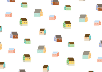House Pattern Background - Free vector #343257