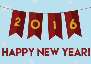 Free New Year Vector - vector gratuit #343307