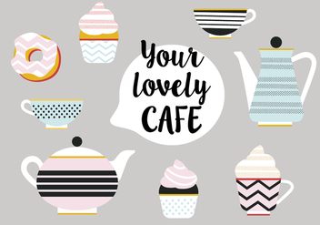 Free Set of Tea Vector Icons - vector #343407 gratis