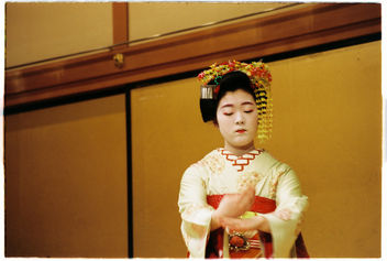 Maiko performing in Kyoto - Free image #343497