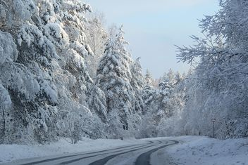 Winter landscape, Priozersk district, Russia - image #343627 gratis