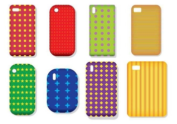 Phone Case Vectors - бесплатный vector #343707