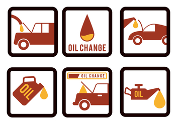 Oil Change Vector - vector gratuit #343727