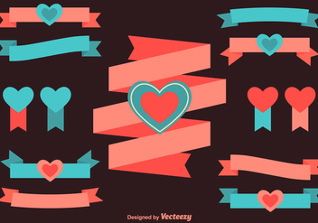 Love Ribbons - Free vector #344297