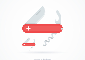 Free Swiss Knife Vector - vector #344467 gratis