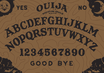 Ouija Board Vector - бесплатный vector #344777