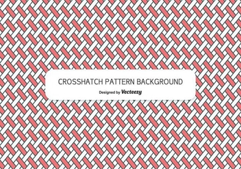 Crosshatch Style Background Pattern - vector gratuit #344887