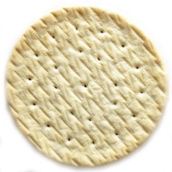 Closeup of cookie on white background - Free image #345067