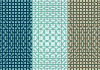 Free Thai Seamless Vector Patterns, Vol. IV - Free vector #345377