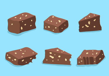 Brownie Vector - vector gratuit #345757