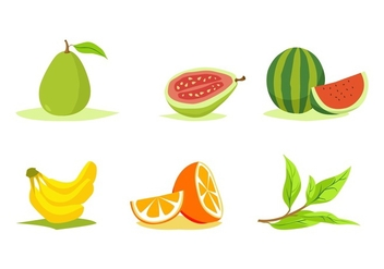 FREE FRUITS VECTOR - vector gratuit #345927