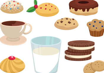 Free Cookie vectors - бесплатный vector #345987