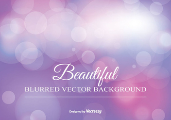 Beauitiful Blurred Bokeh Background - Free vector #346127