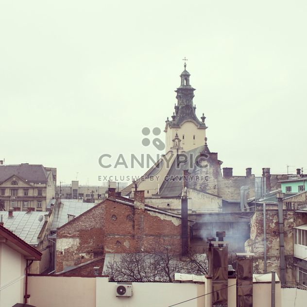 View on architecture of Lviv, Ukraine - image gratuit #346257