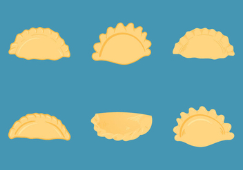 Free Empanadas Vector Illustrations - vector #346307 gratis