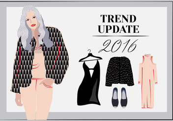 Free Women Wear Vector Elements - бесплатный vector #347037