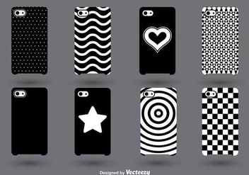 Phone Cases Vector Set - Kostenloses vector #347517