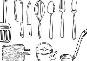 Free Kitchenware Vectors - Free vector #348747