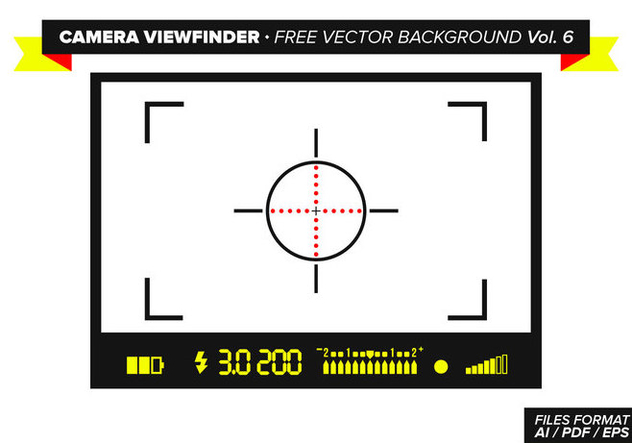 Camera Viewfinder Free Vector Background Vol. 6 - Free vector #348817