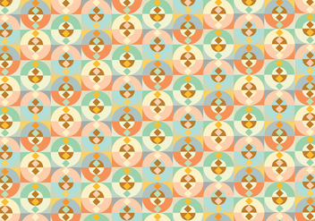 Abstract geometric shape pattern background - vector gratuit #348877