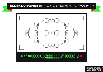 Camera Viewfinder Free Vector Background Vol. 8 - бесплатный vector #349007