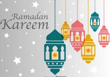 Pelita Muslim Backdrop - Free vector #349087