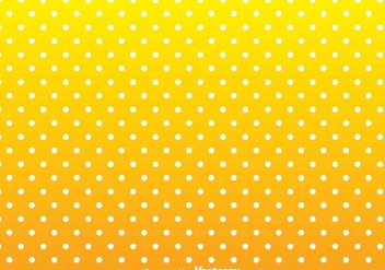 White Dot On Yellow Background - Kostenloses vector #349147