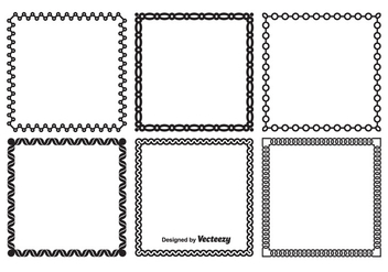 Decorative Frame Set - Free vector #349347