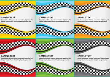 Race Template 03 - vector #349377 gratis