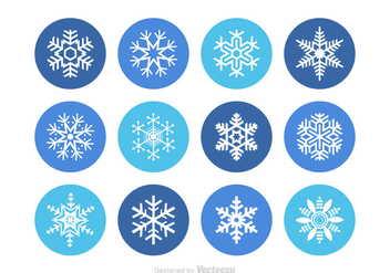 Free Snowflakes Vector - Free vector #349577